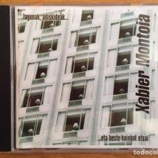 CDs de Música: XABIER MONTOIA: LAGUNAK, ADISKIDEAK... ...ETA BESTE HAINBAT ETSAI. Lote 154661957
