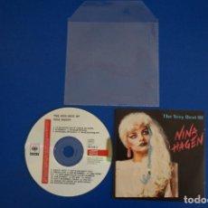CDs de Música: CD MUSICA ROCK POP HEAVY METAL DE THE VERY BEST OF NINA HAGEN Nº 3. Lote 154682818