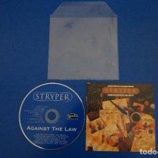 CDs de Música: CD MUSICA ROCK POP HEAVY METAL DE STRYPER AGAINST THE LAW Nº 6. Lote 154683446
