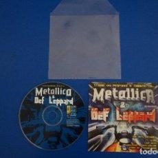 CDs de Música: CD MUSICA ROCK POP HEAVY METAL DE METALLICA & DEF LEPPARD SLANG Nº 7. Lote 154683654