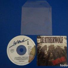 CDs de Música: CD MUSICA ROCK POP HEAVY METAL DE LEATHERWOLF STREET READY Nº 9. Lote 154683982