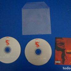 CDs de Música: CD MUSICA ROCK POP HEAVY METAL DE SEPULTURA UNDER A PALE GREY SKY Nº 21. Lote 154687134