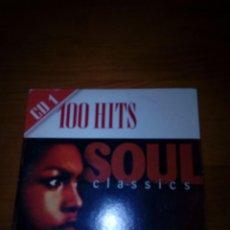 CDs de Música: 100 HITS SOUL CLASSICS. CD 1. B10CD. Lote 154690562