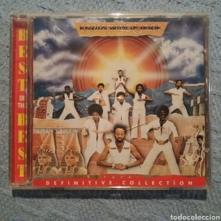 EARTH, WIND & FIRE - DEFINITIVE COLLECTION (Música - CD's Jazz, Blues, Soul y Gospel)