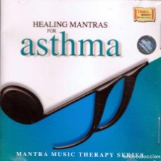 CDs de Música: HEALING MANTRAS FOR ASTHMA. MANTRA MUSIC THERAPY SERIES. CD. TIMES MUSIC (NUEVO). Lote 154718842