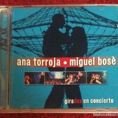 CDs de Música: ANA TORROJA & MIGUEL BOSE (GIRADOS EN CONCIERTO) 2 CD'S 2000. Lote 154787606