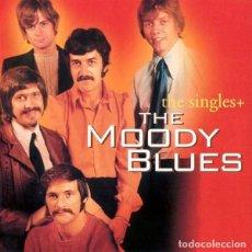 CDs de Música: THE MOODY BLUES. THE SINGLES +. 2 X CD. BR MUSIC BS 8123-2. 2000.. Lote 154788242
