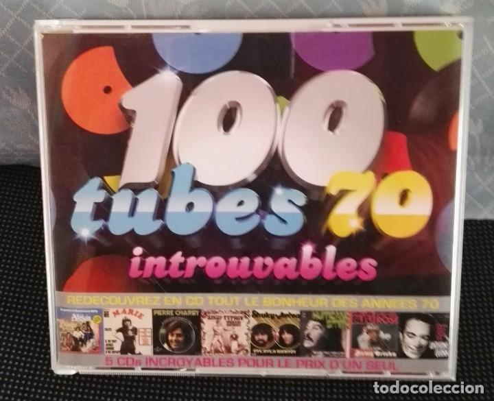 5 CD BOX 100 TUBES 70 INTROUVABLES (Música - CD's Otros Estilos)