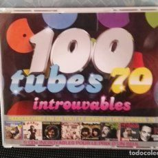 CDs de Música: 5 CD BOX 100 TUBES 70 INTROUVABLES. Lote 154789606
