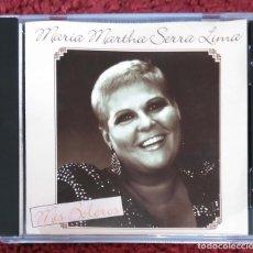 CDs de Música: MARIA MARTHA SERRA LIMA (MIS BOLEROS) CD 1989. Lote 154800430