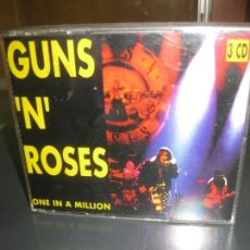 CDs de Música: GUNS 'N' ROSES. ONE IN A MILLION. 3 CD IN BOX- ON STAGE RECORDS CD/ON 2241. RARISIMO. Lote 154817834