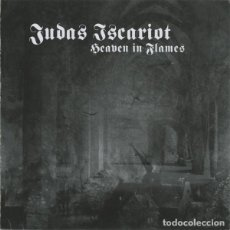 CDs de Música: JUDAS ISCARIOT– HEAVEN IN FLAMES --BLACK METAL. Lote 154820426