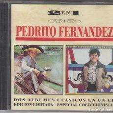 CDs de Música: PEDRITO FERNÁNDEZ CD LA DE LA MOCHILA AZUL / LA MUGROSITA 1995 . Lote 154825534