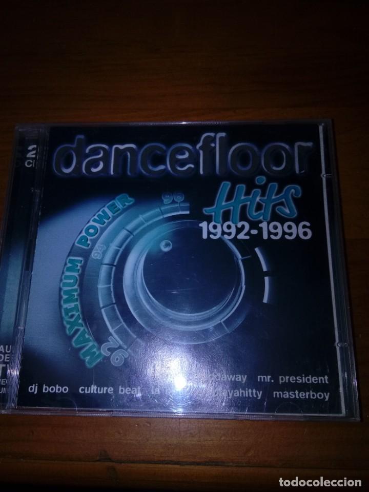 DANCEFLOOR. HITS 1992 1996. 2 CDS. B10CD (Música - CD's Otros Estilos)