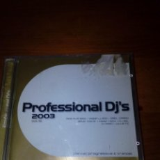 CDs de Música: PROFESSIONAL DJ´S 2003. 2 CDS. B10CD. Lote 154835490