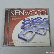 CDs de Música: KENWOOD THE URBAN POWER 2X CD. Lote 154864070