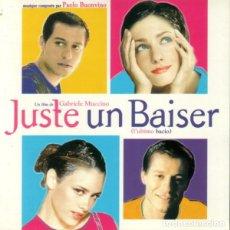 CDs de Música: JUSTE UN BAISER / PAOLO BUONVINO CD BSO. Lote 154874582
