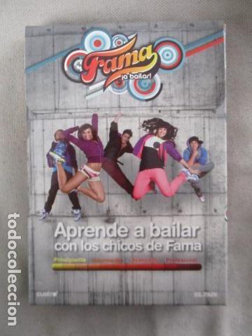 LOTE COMPLETO DE 12 DVD'S APRENDE A BAILAR CON LOS CHICOS D FAMA-CUATRO/EL PAIS (Música - CD's Disco y Dance)