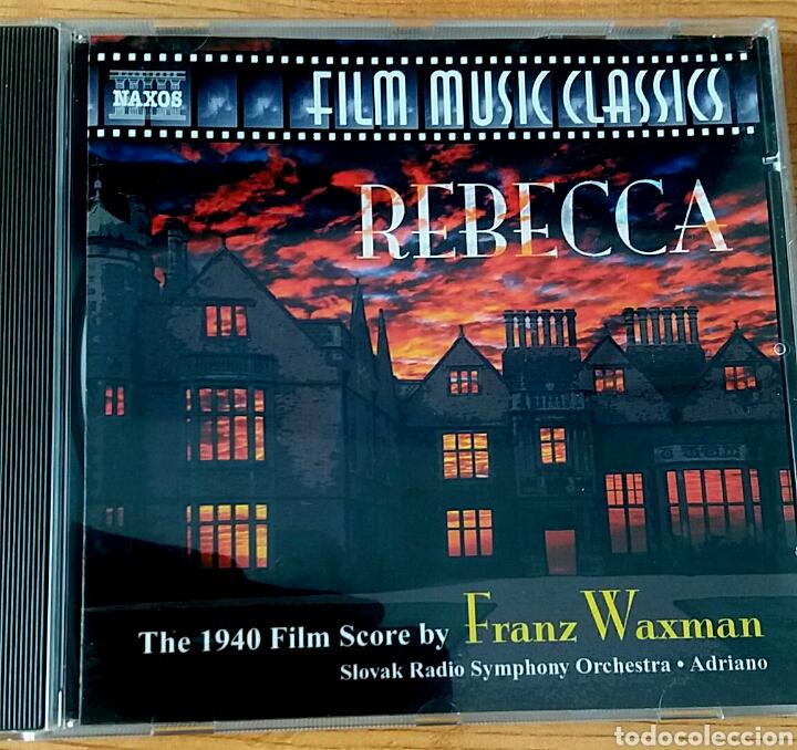 REBECCA. B.S.O. FRANZ WAXMAN. NAXOS 8.557549. (Música - CD's Bandas Sonoras)