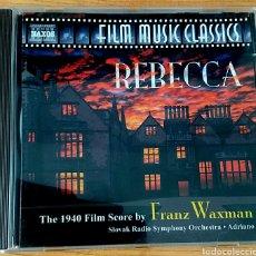 CDs de Música: REBECCA. B.S.O. FRANZ WAXMAN. NAXOS 8.557549.. Lote 154884744