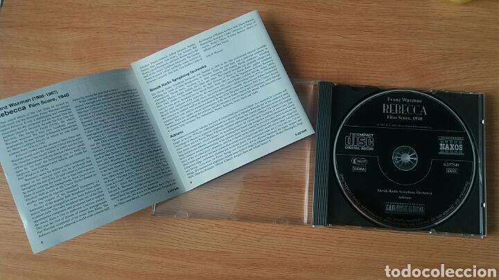 CDs de Música: Rebecca. B.S.O. Franz Waxman. NAXOS 8.557549. - Foto 3 - 154884744