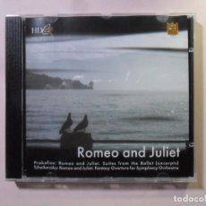 CDs de Música: CD - HD - INF 56 - ROMEO AND JULIET - PROKOFIEV / TCHAIKOVSKY - CLASSICS SPECIAL EDITION. Lote 154906222