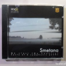 CDs de Música: CD - HD - INF 73 - SMETANA - MY COUNTRY / CYCLE OF 6 SYMPHONIC POEMS - CLASSICS SPECIAL EDITION. Lote 154909850