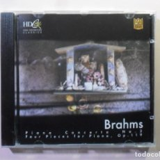 CDs de Música: CD - HD - INF 76 - BRAHMS - PIANO CONCERTO #2/FOUR PIECES FOR PIANO OP.119 -CLASSICS SPECIAL EDITION. Lote 154910914