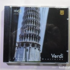 CDs de Música: CD - HD - INF 78 - VERDI - CHOIRS AND OVERTURES - CLASSICS SPECIAL EDITION. Lote 154911290