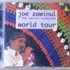 CDs de Música: JOE ZAWINUL + THE ZAWINUL SYNDICATE. WORL TOUR. 2 CDS. CARCASA G.; CDS VG+. Lote 154932866