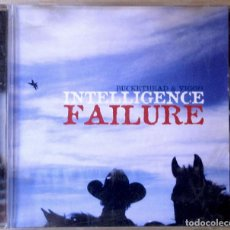 CDs de Música: BUCKETHEAD & VIGGO MORTENSEN. INTELLIGENCE FAILURE. CARCASA VG+. CD VG+.. Lote 154942250
