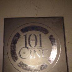 CDs de Música: CAJA DE 5 CD'S LAS 101 CANCIONES DEL CINE . Lote 154943186
