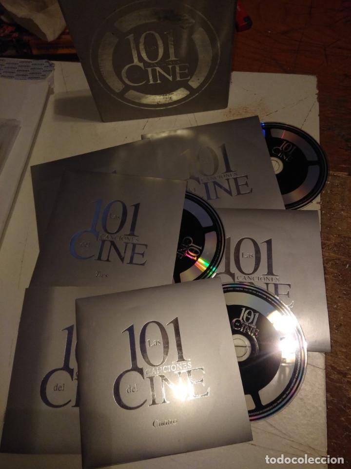 CDs de Música: CAJA DE 5 CDS LAS 101 CANCIONES DEL CINE - Foto 2 - 154943186