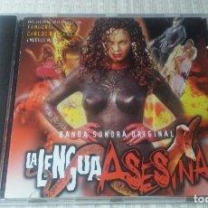 CDs de Música: LA LENGUA ASESINA CD B.S.O. (AÑO 1996). Lote 154976210