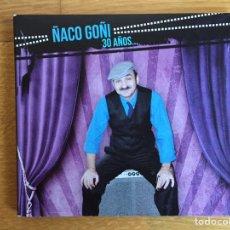 CDs de Música: ÑACO GOÑI: 30 AÑOS.... Lote 154984896