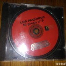 CDs de Música: DISCO CD LOS PAQUIROS EL PRESO N°9 . Lote 154989134