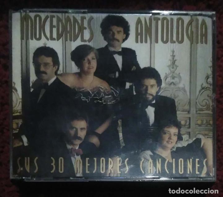MOCEDADES (ANTOLOGIA - MIS 30 MEJORES CANCIONES) 2 CD'S 1994 (Música - CD's Melódica )