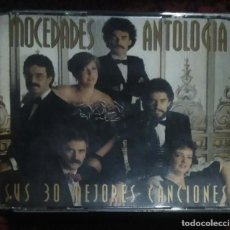 CDs de Música: MOCEDADES (ANTOLOGIA - MIS 30 MEJORES CANCIONES) 2 CD'S 1994. Lote 155013486