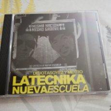 CDs de Música: LA TECNIKA / CD / NUEVA ESCUELA /DEJOTASOEZ Y METRO / RAP. Lote 155082184
