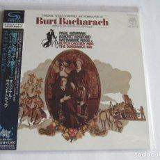 CDs de Música: BURT BACHARACH - SOUNDTRACK BUTCH CASSIDY AND THE SUNDANCE 1969/2012 JAPAN MINI LP SHM CD UICY-75220. Lote 154961318