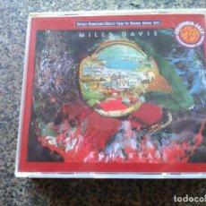 CDs de Música: DOBLE CD -- MILES DAVIS – AGHARTA -- COMO NUEVO --. Lote 155135406