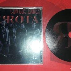 CDs de Música: DERROTA - CD CON DOS ERRES (ROCK URBANO, HARD ROCK, LEÑO, BARRICADA...). Lote 155137664