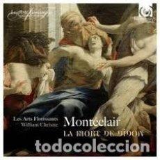 CDs de Música: MONTÉCLAIR - CANTATES À UNE & TRIOS VOIX AVEC SYMPHONIE (CD) LES ARTS FLORISSANTS. Lote 155140834