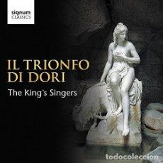 CDs de Música: VARIOS COMPOSITORES - IL TRIONFO DI DORI (CD) THE KING'S SINGERS. Lote 155141222