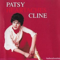 CDs de Música: PATSY CLINE. HEARTACHES. CD. Lote 155163822