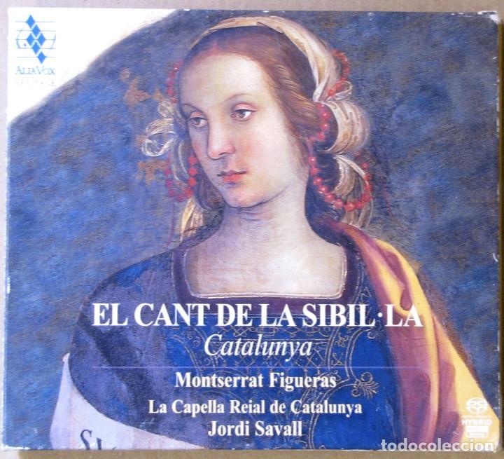 EL CANT DE LA SIBIL.LA. CATALUNYA. MONTSERRAT FIGUERAS, LA CAPELLA REIAL DE CATALUNYA. JORDI SAVALL. (Música - CD's Otros Estilos)