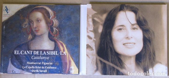 CDs de Música: El Cant de La Sibil.la. Catalunya. Montserrat Figueras, La Capella Reial de Catalunya. Jordi Savall. - Foto 2 - 155232590