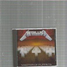 CDs de Música: METALLICA MASTER. Lote 155233914