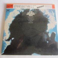 CDs de Música: BOB DYLAN - GREATEST HITS 1967/2010 JAPAN MINI LP PAPERSLEEVE CARDBOARD CD MHCP-837 + COLOR POSTER. Lote 155237802