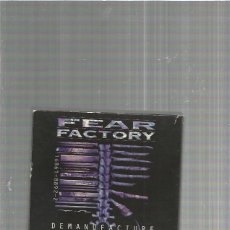 CDs de Música: FEAR FACTORY DEMANUFACTURE. Lote 155241138